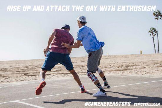 #mondaymotivation #veniceball #gameneverstops @_jerem - - #vbl #hoopersparadise #ballislife #practicemakesperfect #basketball #training #stancehoops #stance #hoopersofinstagram #nba #playhardworkhard #monday #bouncewithheart