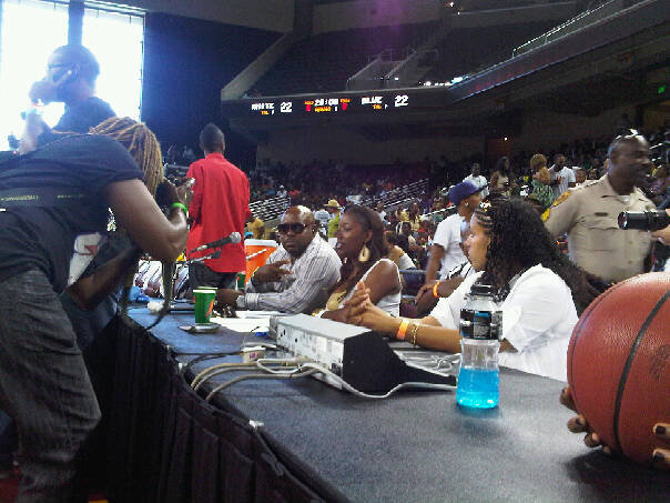 VENICEBALL @ KATT WILLIAMS CELEBRITY GAME