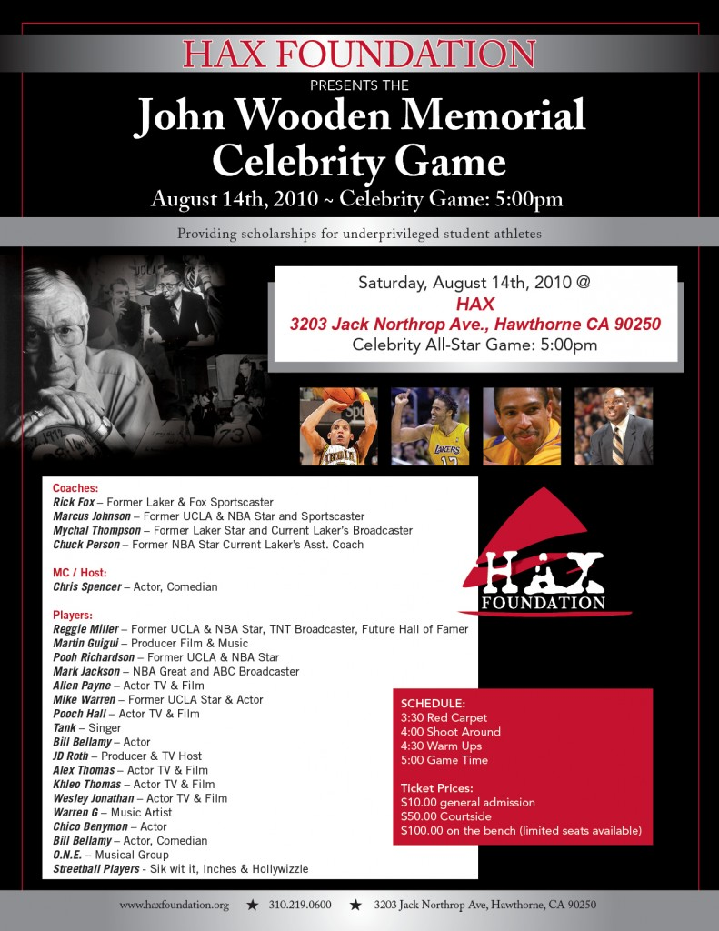 WoodenMemorialCelebrityGame