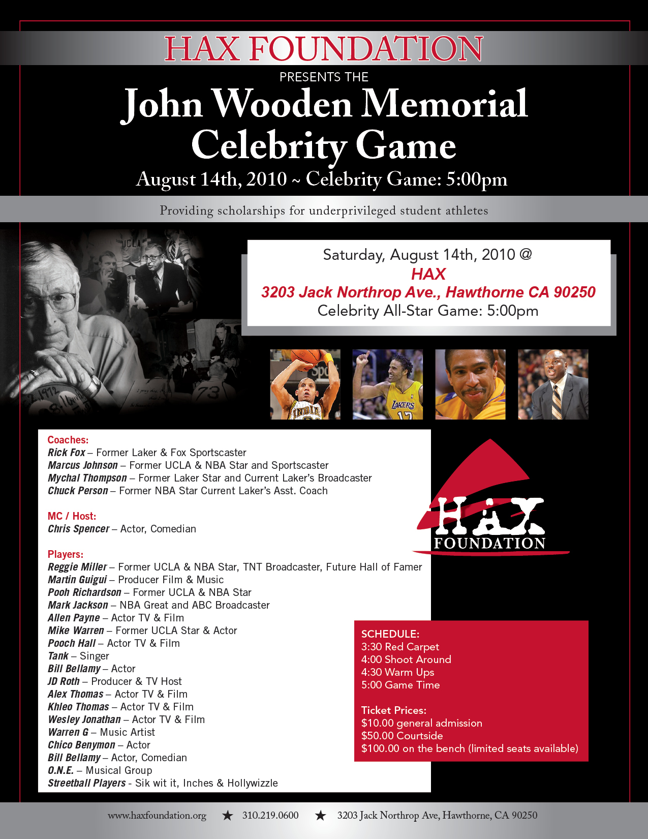 Fantastic Celebrity game @ HAX