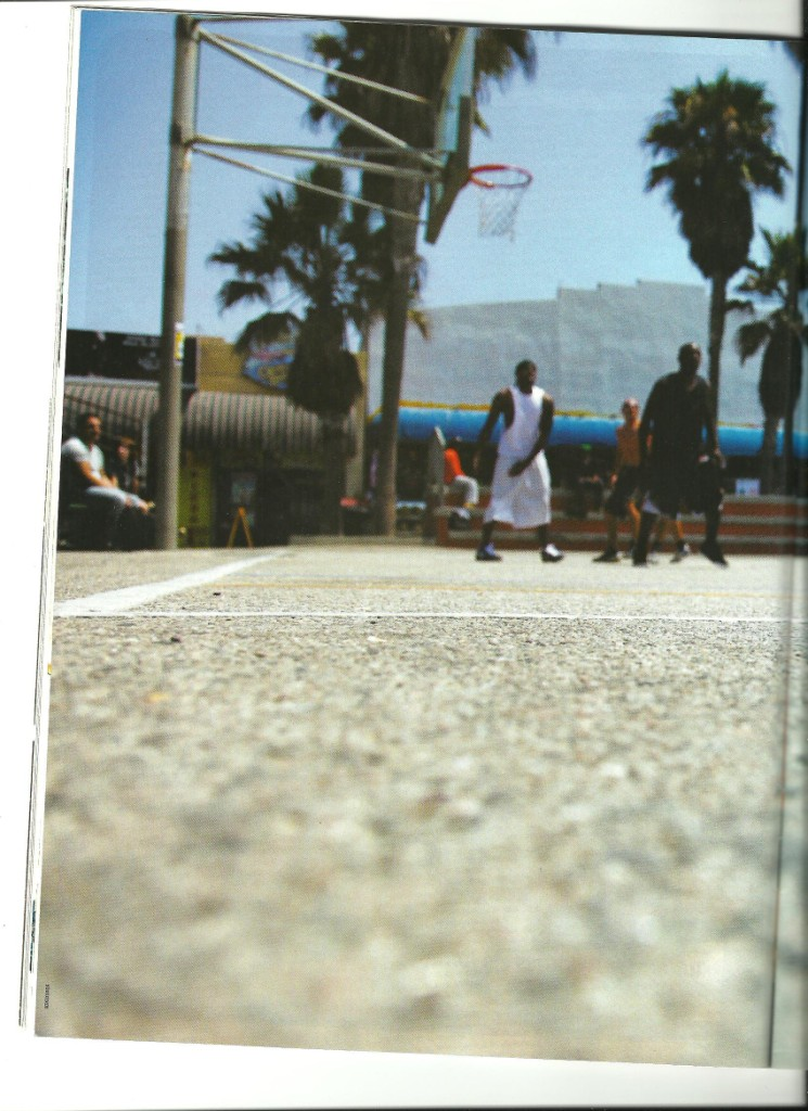 BAM Mag from France article about Venice Beach Summer Basketball