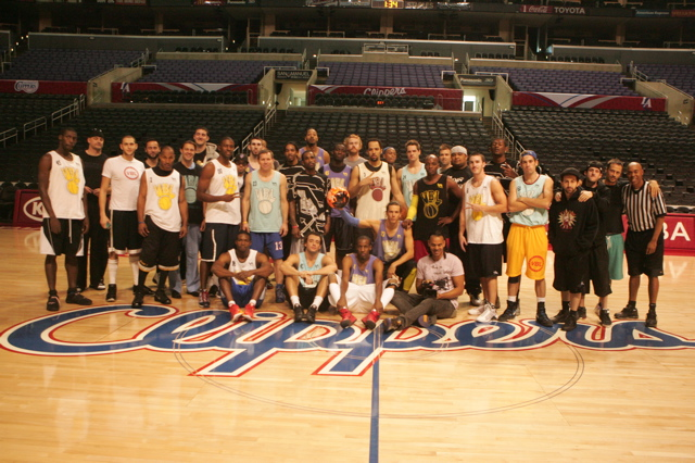 VBL @ STAPLES… Warming Up The ClipperS.. We Got Next