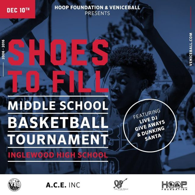 6th annual Shoes To Fill tournament presented by thehoopfoundation thishellip