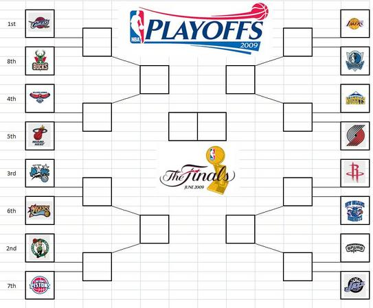 Nba Playoffs 2009 Brac...