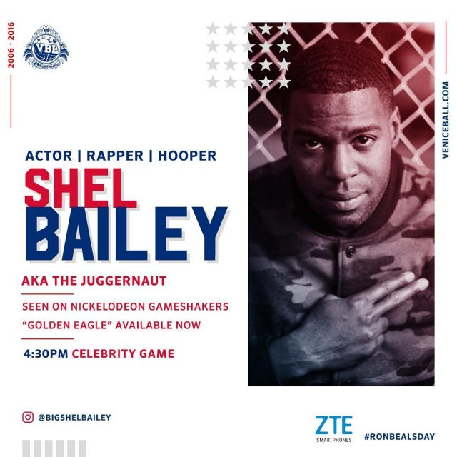 bigshelbailey aka thejuggernaut rocking the spot 3pm !! ronbealsday
