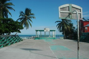 BasketBall+Court+by+the+Sea