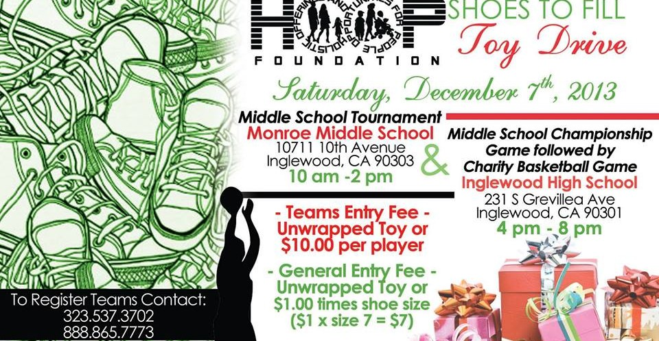 HOOP Foundation Toy Drive >> VBL vs LAPD