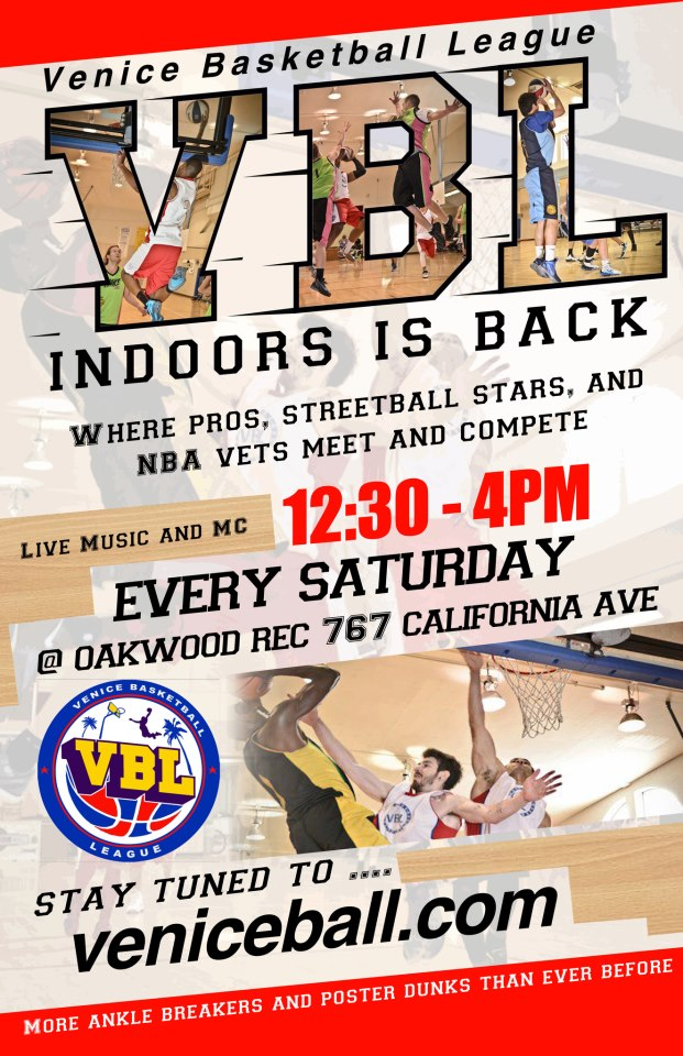 The 3rd annual VBL Indoor league is Back!!