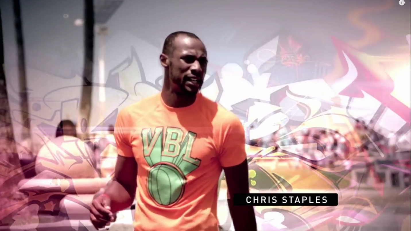 VBL on Australian TV featuring Kwame and Chris Staples