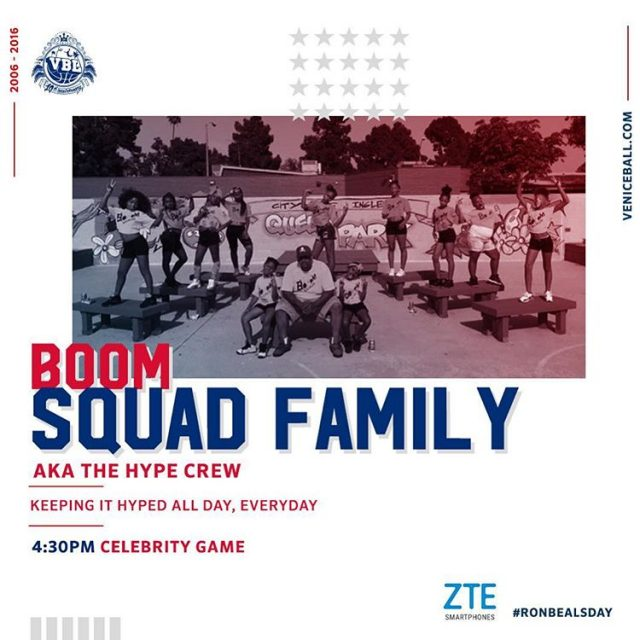 boomsquadfamily keeping us hyped all day ronbealsday