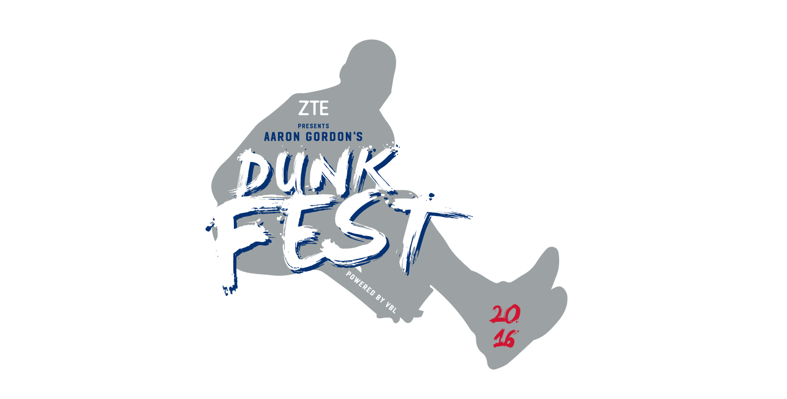 Aaron Gordon and ZTE presents the AG Dunk Fest – LINEUP