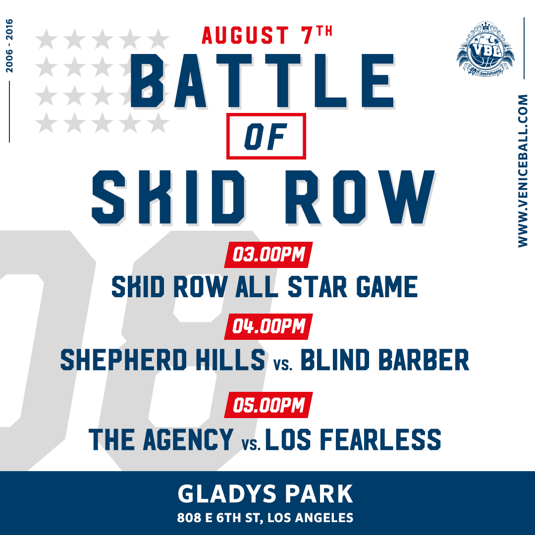 August 7th Battle of Skid Row is on !!