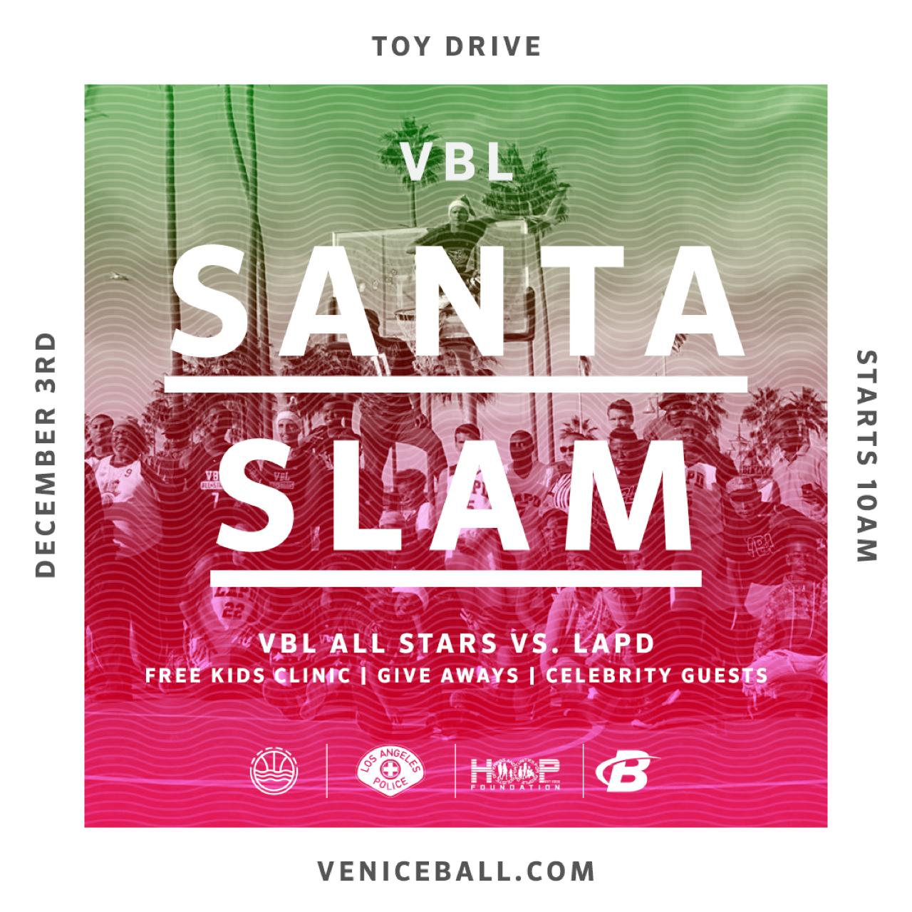VBL Santa Slam – Toy Drive 2017