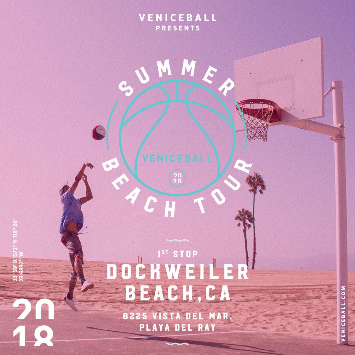 Veniceball Beach summer tour kicks off @ Dockweilwer Beach 6/14