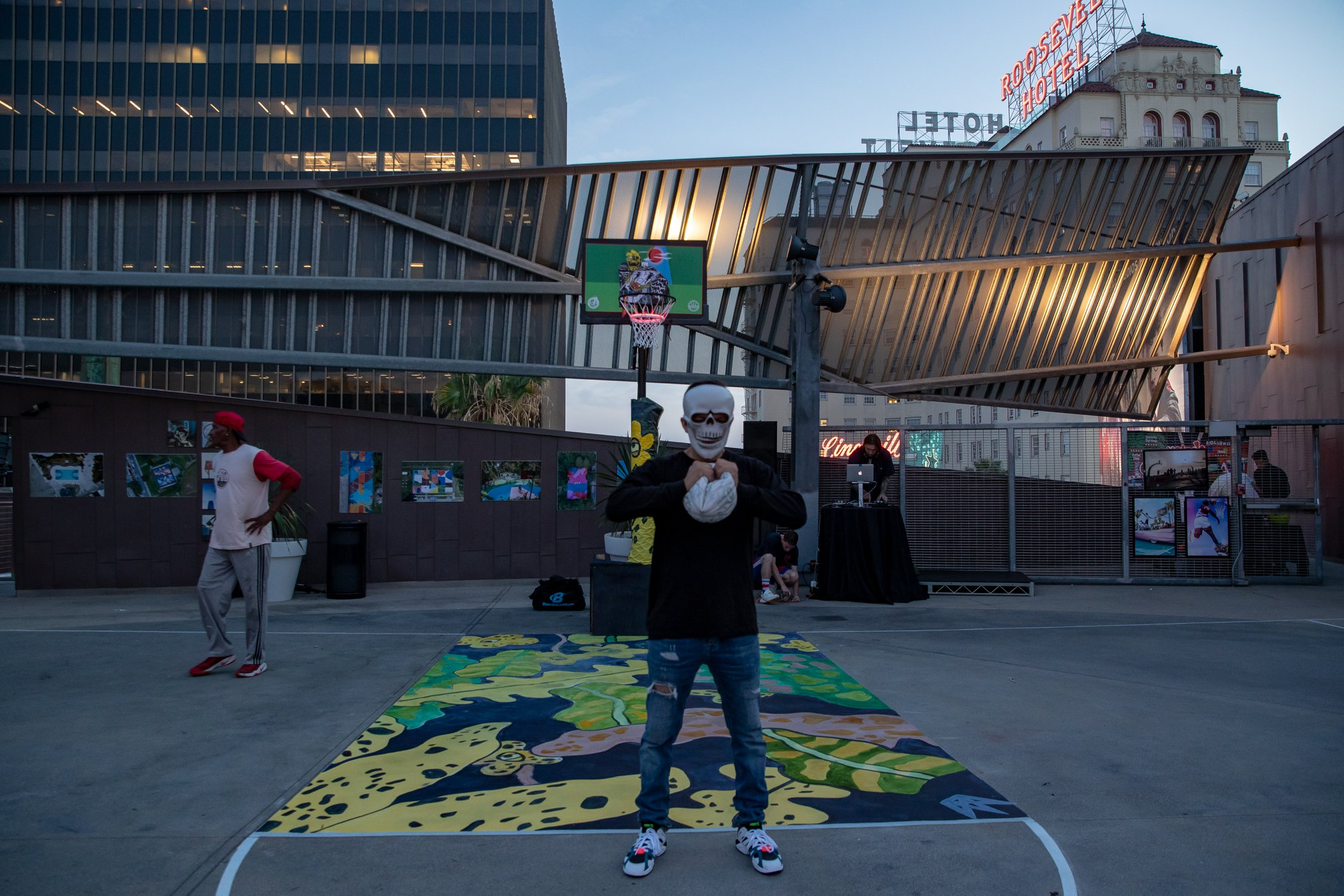 """VeniceBall x Project Backboard """"Raises the Roof"""" for a Cause"""